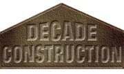 decade construction logo